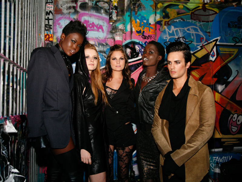 Urban Upbringing Models Backstage