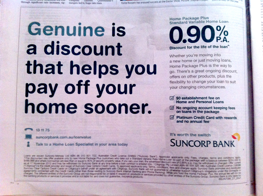 genuine bank