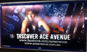 ace avenue billboard
