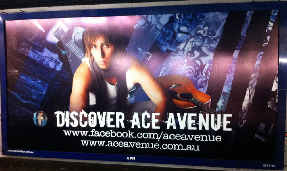 ace avenue billboard