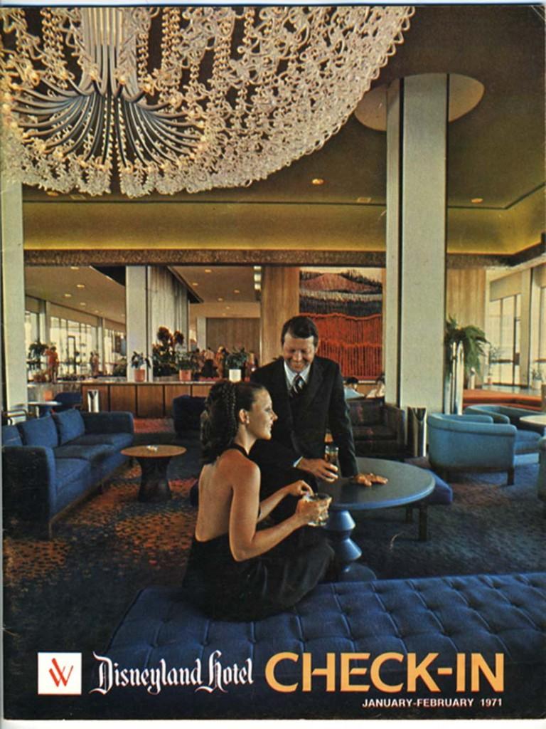Disneyland Hotel ad 1971