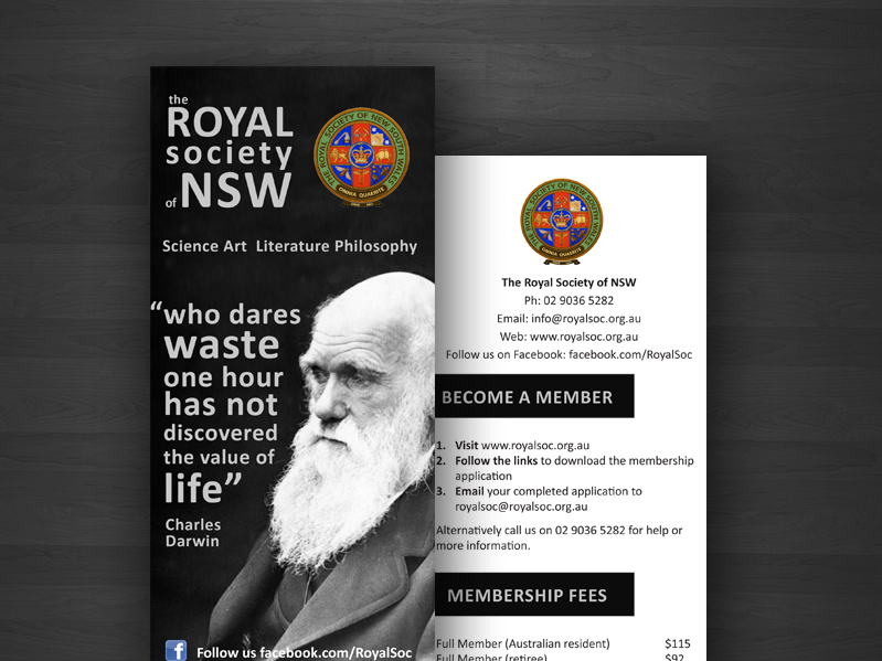 Royal Society Flyer